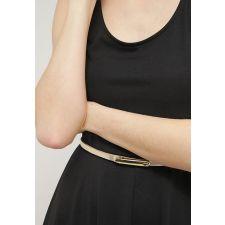 Черна рокля ANNA FIELD с колан, Код DD0002-AF