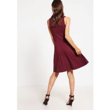 Дамска еластична рокля ANNA FIELD цвят бордо, Код DD0154