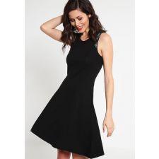 Еластична рокля ANNA FIELD цвят черен, Код DD0051