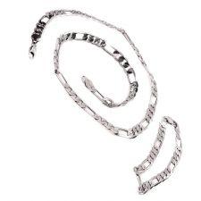 Ланец и гривна от стомана АПОЛОН ВЕРСУС, код 316L S119