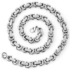 Ланец от стомана СРЕБЪРНО ВЕРСАЧЕ, код 316L N020-9мм