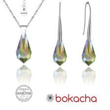 Бижута с кристали Swarovski® TEAR 15мм Vitrail Light** VL, Лилаво-зелен, Код PRFNL S355