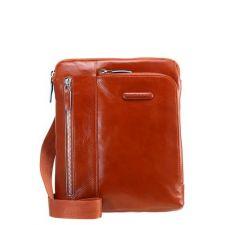 Луксозна Чанта Piquadro от естествена кожа в кафяв цвят, Код F130