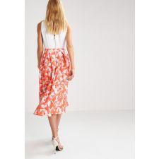 Колоритна рокля FROCH and FRILL от плътна материя на оранжеви пеперуди, Размер M, Код DD121