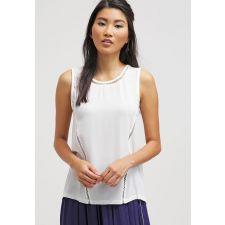 Свободна блуза CORTEFIEL с дантели от ефирна материя в кремаво бяло, Размер XL-XXL, Код BL433