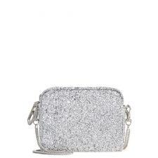 Дамска чанта River Island, тип клъч в елегантно сребрист цвят, Код F237