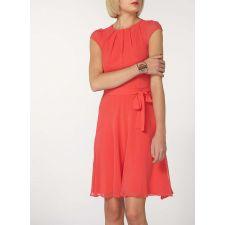 Стилна рокля DOROTHY PERKINS в тъмно розово, Размер М, Код DD0143