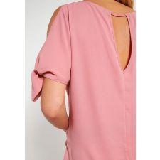 Екстравагантна блуза DOROTHY PERKINS цвят пепел от рози, Размер S, Код BL0069