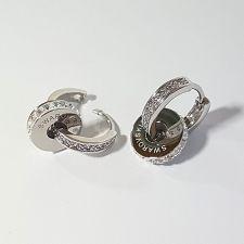 Обеци с талисман ПЪТ КЪМ УСПЕХА, Swarovski® Pave Beads, Код PR E533