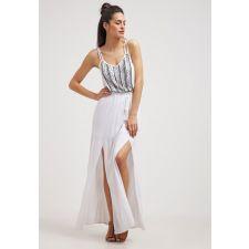 Оригинална рокля EVEN & ODD с мъниста в меко бяло, Размер L, Код DD511