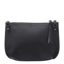 Дамска Чанта EVEN&ODD, тип клъч в черен цвят, Код F206