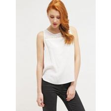 Дамска ефирна блуза EVEN&ODD със закачлива дантела, Размер M, Код BL0131