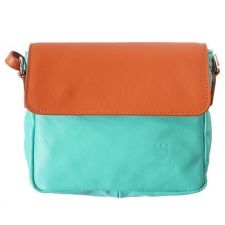 Чанта Естествена Кожа ПАЛЕРМО, FLORENCE, цвят тюркоаз, Код FL86929