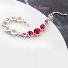 Гривна SWAROVSKI® RED TUNE, Код PR B004B