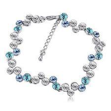 Гривна ТИФАНИ с разноцветни Swarovski Crystals, Zerga Brand, Код ZG B530