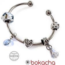 Гривна с талисмани КЪСМЕТ ЗА ТЕБ, Swarovski® Pave Beads, Код PR B528