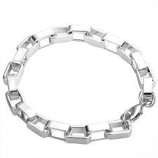 Стилна гривна, сребърно покритие и печат 925! 925 H24043