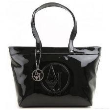 Луксозна чанта ARMANI JEANS в екстравагантен черен цвят, Код F279