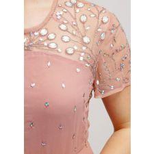 Официална рокля FROCH and FRILL с мъниста , Размер XXL/XXXL, Код DD0135