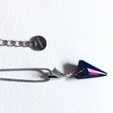 Колие FAITH Swarovski® Spike, Rainbow Dark**, Многоцветен, Код PR N481