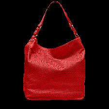 Чанта Melvin & Hamilton в наситен червен цвят, Код F134A
