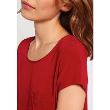 Червена блуза EVEN&ODD с къс ръкав, Размер L, Код BL0002