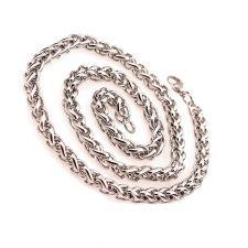 Комплект ланец и гривна от стомана за мъж КАРОЛ 5mm, код 316L S051-5