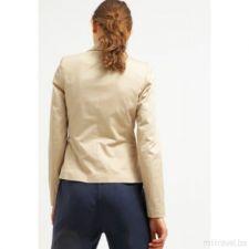Стилно дамско сако KIOMI в пастелен бежов цвят, Размер L, Код JA905