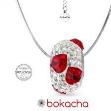 Колие с талисман МОЯ ЛЮБОВ, Swarovski® Pave Beads, Код PR N529