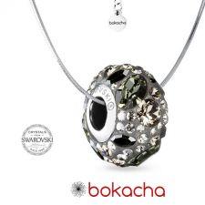 Колие с талисман БЛЯСЪК В НОЩТА, Swarovski® Pave Beads, Код PR N566