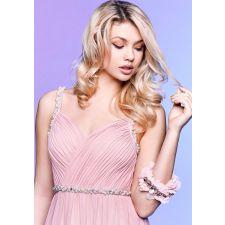Официална рокля LAONA с перли и кристали, Размер M, Код DD0117