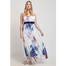 Дълга рокля LITTLE MISTRESS с флорални мотиви, Код DD0059