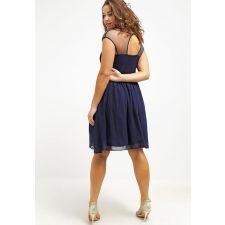 Омайна рокля LITTLE MISTRESS с кристали в мастилено син цвят , Размер XL/XXXL, Код DD0162