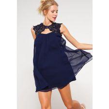 Елегантна рокля  LIPSY LONDON с пайети в тъмносин цвят, Размер S, Код DD0120