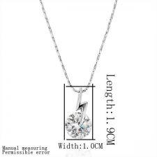 Колие БЛЯСКАВ ГРЪМ, Zerga Jewelry - бяло златно покритие, 18KG N14969