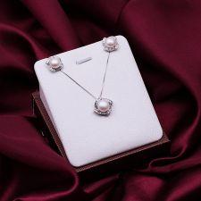 Комплект бижута ГЛОРИ от Перли Caprice, CPR S02157