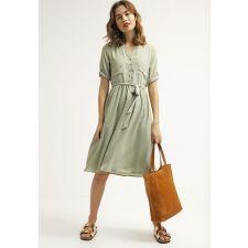 Ежедневна дамска рокля MINT&BERRY цвят каки зелен, Код DD0045