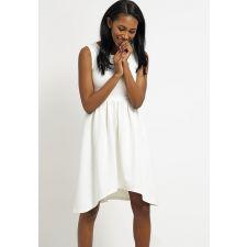 Бяла рокля MINT&BERRY асиметрична, Код DD0012-MB