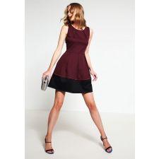 Дамска рокля MINT&BERRY цвят бордо/черно, Код DD0013-MB