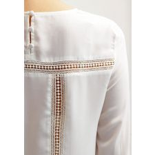 Свободна блуза MINT&BERRY с дантели, Код BL0056