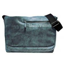 Стилна Чанта за лаптоп Strellson Sportswear в сиво-син цвят, Код F148
