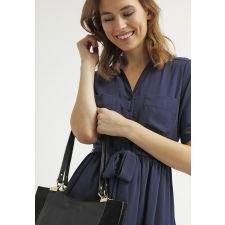Ежедневна дамска рокля MINT&BERRY цвят тъмносин, РазмерXS, Код DD0078