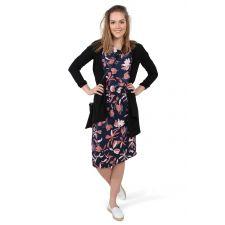 Флорална дълга рокля MODSTROM, Код DD0043