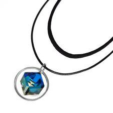 Чоукър колие Charming Choker Swarovski® CUBE 8мм Bermuda Blue BBL, Син цвят, Код PR N506