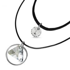 Чоукър колие Charming Choker Swarovski® TRIANGLE Crystal**, Бял, 12мм, Код PR N514