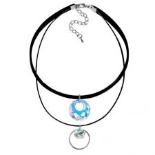 Чоукър колие Charming Choker Swarovski® VICTORY 18мм Crystal Aurore Boreale** AB, Бял, Код PR N515