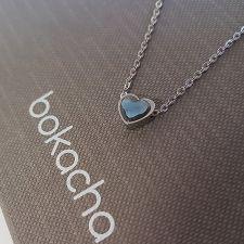Колие, украсено със SWAROVSKI® ЛЮБОВНА МАГИЯ Denim Blue Crystal, Син цвят, Код PR N557