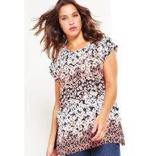 Блуза NEW LOOK с къс ръкав и флорални мотиви, Размер XXXL, Код BL0121
