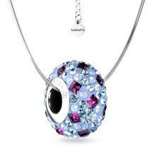 Колие с талисман СЕВЕРНО СИЯНИЕ, Swarovski® Pave Beads, Код PR N530
