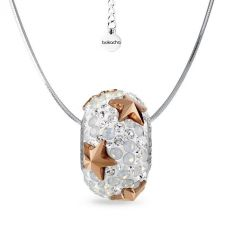 Колие с талисман ЗВЕЗДЕН МИГ, Swarovski® Pave Beads, Код PR N532